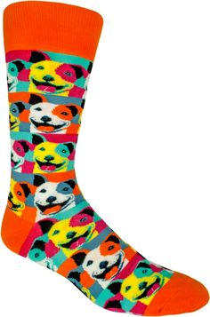 Beware of Pit Bulls They Will Steal Your Heart Mens//Womens Sensitive Feet Wide Fit Crew Socks and Cotton Crew Athletic Sock