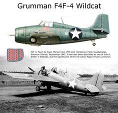 Grumman F4F-4 Wildcat