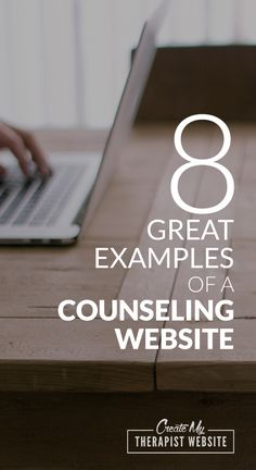 As a web designer myself, I always find it helpful to take a look at what others are doing to get an idea for any website I want to create. So let's do that with some counseling websites.