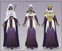 Myn'kirrah Character Design by ladyofdragons on DeviantArt
