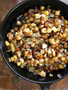 Caramelized Turnips, Potatoes, and Carrots - YUM!  Add the potatoes just about half-way thru if you want everything to cook evenly. Takes about an hour to get everything soft and tender. I tweaked this to mimic the way I make Dutch Oven Potatoes.  Oh so yummy!