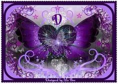 My purple Heart Purple Art, Purple Love, All Things Purple, Purple Butterfly, Butterfly Art, Shades Of Purple, Deep Purple, Purple And Black, Purple Stuff