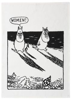 If someone ever wonders what memes from Finland are like, this is the answer. Random moomin pictures without caption. They are literally considered as memes in Finland. Pictures like this give me life. Moomin Valley, Tove Jansson, Modern Artwork, Little My, Illustrators, Illustration Art, Artsy, Troll, Sketches