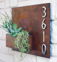 Address Plaques / Address Numbers modern house numbers