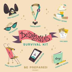 Disneyland Survival Kit by Rogie King