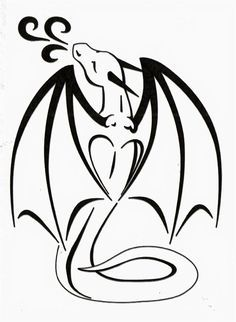 Simple Dragon Line Drawing - Heart Wings Small Dragon Tattoos Dragon Tattoo Simple Dragon Free Standard Dragon Outlines By Suzidragonlady On Deviantart Simple Dragon Line Drawing . Dragon Tattoo Simple, Cute Dragon Tattoo, Small Dragon Tattoos, Dragon Tattoo Designs, Dragon Tattoo Silhouette, Dragon Tattoo Drawing, Tribal Dragon Tattoos, Dragon Line Drawing, Simple Dragon Drawing
