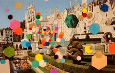 Collage Disney world