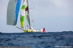 Les Sables – Açores – Les Sables: La flota a 400 millas de Finisterre