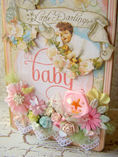 Baby Mini Album - Graphic 45 - Scrapbook.com