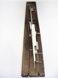 work in progress by Alexander Daxböck, architectural model, maquette, modelo