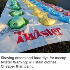 Messy Twister. WILL STAIN CLOTHES