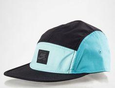 93cba7da7c480 Aqua 5-Panel Hat by NIKE SB 5 Panel Hat