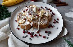 Édes bundázott kenyér Waffles, Pancakes, Falafel, Granola, French Toast, Vegetarian, Vegan, Breakfast, Food