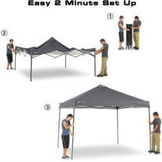 Ozark Trail x x Instant Canopy Dark Grey  sc 1 st  Pinterest & Stansport Dining Canopy 12u0027 x 12u0027 - Walmart.com | Craft Fair ...