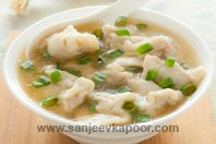 Wonton Soup: Another Chinese favourite - wontons in soup