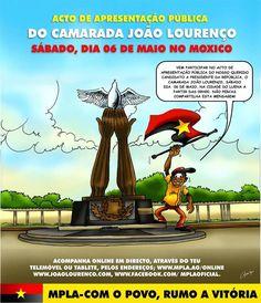 Vamos acompanhar o acto do candidato do povo no sábado! Rumo a vitória! #EusouJoãoLourenço #JoãoLourenço #MPLA #Angola #Política #EleiçõesAngola #Eleições #RegisrtoEleitoral #AGuiarAvançoDeAngola #AvançoDeAngola #MPLAAngola #PicOfTheDay