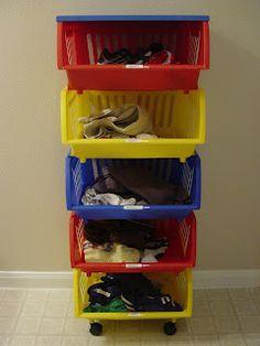 Make It Happen Mama: Organizing School Clothes