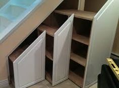 How to Make Use Of Space Under Stairs . How to Make Use Of Space Under Stairs. 18 Useful Designs for Your Free Under Stair Storage Under Under Stairs Cupboard Storage, Shelves Under Stairs, Space Under Stairs, Stair Shelves, Staircase Storage, Stair Storage, Storage Shelves, Storage Spaces, Storage Ideas
