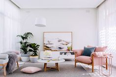 Think Pink: The Interiors Color We're Crushing On, today on #mothermag