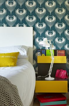Irish home design with amazing pattern wallpapers