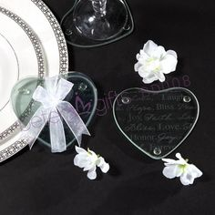 Shanghai Beter Gifts BD008 Good Wishes Heart Glass Coaster  #glasscoaster #coasterset #coasterfavors   http://detail.1688.com/offer/521009378379.html