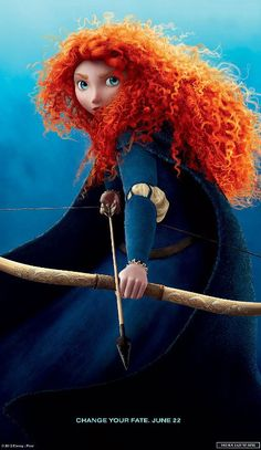 I'm not saying I'm ever going to do COSPLAY...but if I did, I would be her!  I mean, I already have the hair for it and that's half the costume!