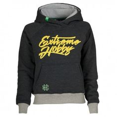 """Hooded women EH CRUEL ANNABELL mouse grey. Hooded women """"Extreme Hobby"""" features highest quality fabric. 90% cotton, 10% polyester with the addition of silicon / Enzim-340 GSM. water paint prints. Embroidery and gel additives."""