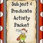 This Subject and Predicate Packet is a 25 page packet of activities that will make your job easier while your students are having fun learning.  Th...