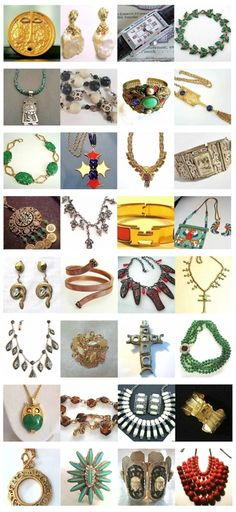 My Just Jewelry Roundup of eBay Vintage Jewelry Finds - All these auctions end in the next five days. More info on items http://bit.ly/JLpbP9
