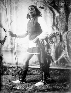 Chief Hollow Wood, Native American Sioux - 1891
