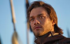 The incredibly handsome Lorenzo Richelmy as seen as Marco Polo in the Netflix series