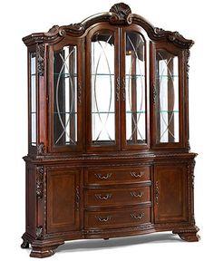 Royal Manor China Cabinet Dream FurnitureDining Room