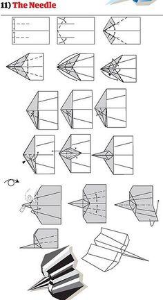 Plans Avions Papier 122274