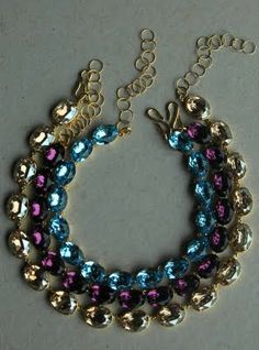 Anna Wintour style necklace