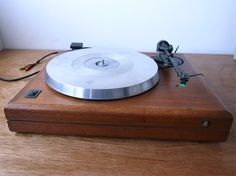 AR turntable :: sounds great, looks great, and it's affordable.