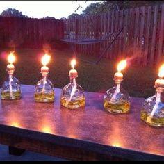 Float trip Tiki torches!!