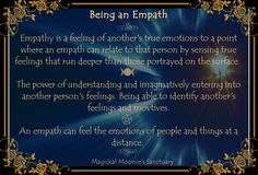 Being an Empath, Picture by Magickal Moonie's Sanctuary