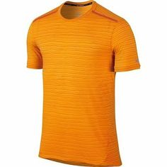 NWT Nike Cool Tailwind Stripe Men's Dri-Fit T-Shirt 724809 868 Orange $55 SZ L Clothing, Shoes & Accessories:Men's Clothing:Athletic Apparel #nike #jordan #shoes houseofnike.com $32.90