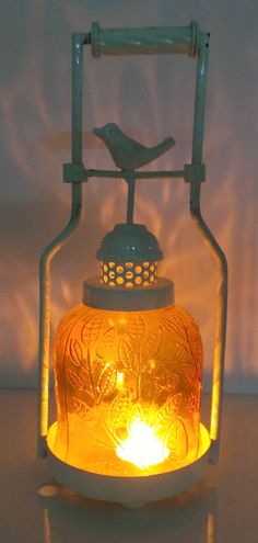 Visit our studio at 5217,DLF Phase IV, Gurgaon to purchase these stylish Bird Lantern or inbox us or call us at 09899294940 for price query ! Mason Jar Lamp, Lanterns, Table Lamp, Bird, Studio, Lighting, Stylish, Rooms, Amazing