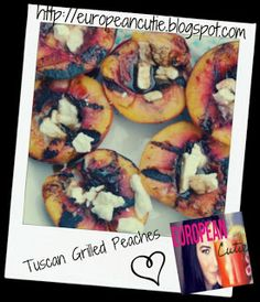 tuscan grilled peaches on MyRecipeMagic.com