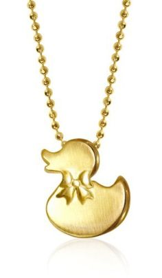 "Alex Woo ""Little Baby"" 14k Yellow Gold Ducky with Bow Pendant Necklace, 16"" Alex Woo,http://www.amazon.com/dp/B0042JT45M/ref=cm_sw_r_pi_dp_4mAIrb20B8E34BB4"