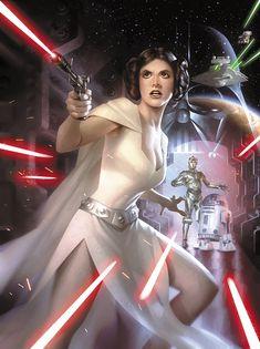 ImagineFX Star Wars Cover by Alex Garner