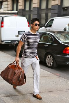 I'm always a fan of a good bag. Especially when they have beach clothes in them.