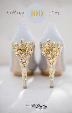 Wedding shoes you won't want to take off! http://www.stylemepretty.com/collection/2589/picture/2945128/