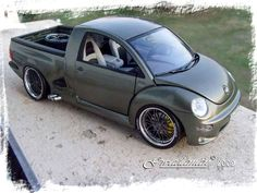 tuned vw new beetle | Volkswagen New Beetle pick-up tuning Burago. Volkswagen…