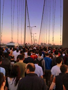 View from the Bosporus Bridge people started to walk from Asian to European side Istanbul to support protestors in Gezi on the bridge where its normally prohibited. Attached site  also summerise the happening. #occupygezi