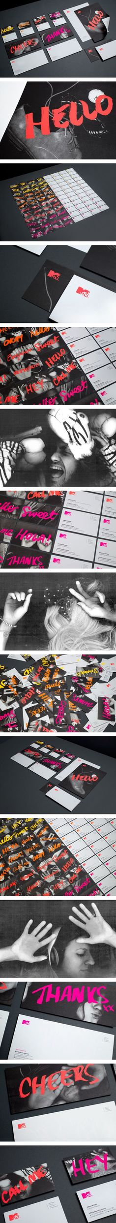 MTV Branding on Behance | Fivestar Branding – Design and Branding Agency & Inspiration Gallery