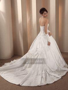 プリンセス ウエディングドレス  チャペル 挙式  ロングトレーン  002280063008