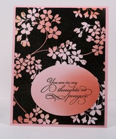 glory of modesty background stamp - love the use of the colour over black stamping - would be gorgeous in blues, or lilacs/purples