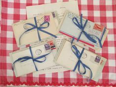 Vintage Handwritten Love Letters  1940's  by vintagenelly on Etsy